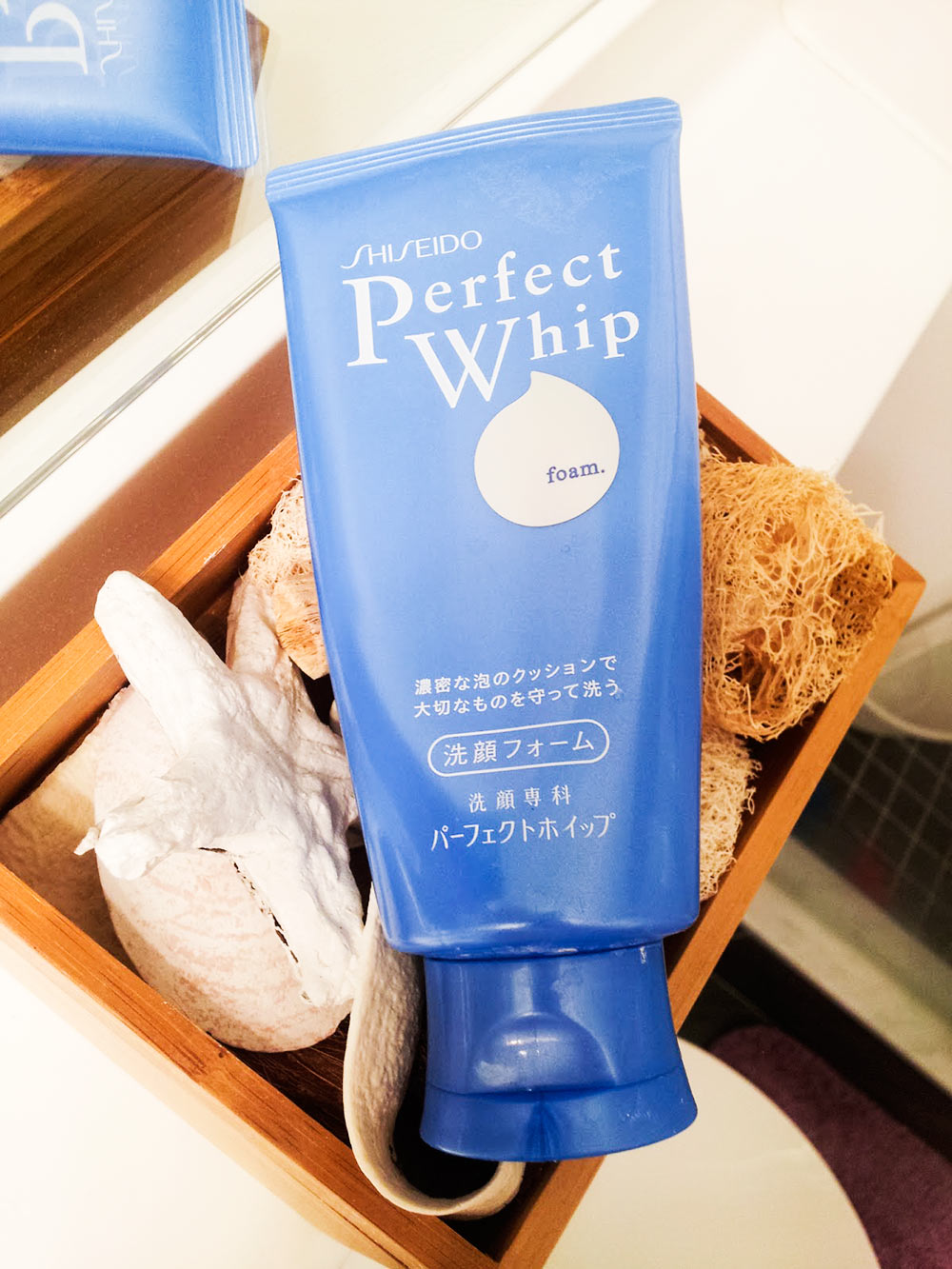 sữa rửa mặt Shiseido