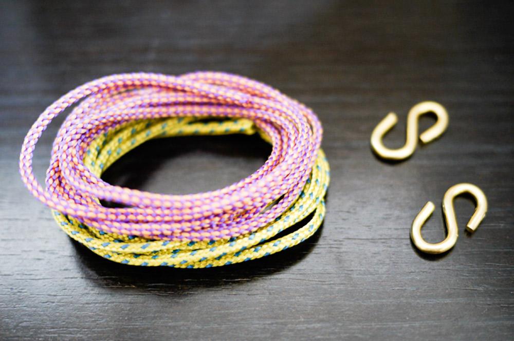 Cách làm vòng đeo tay HANDMADE bằng dây thừng móc cá tính 2